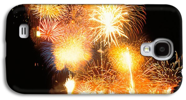 Fireworks Display In Night Galaxy S4 Case by Panoramic Images