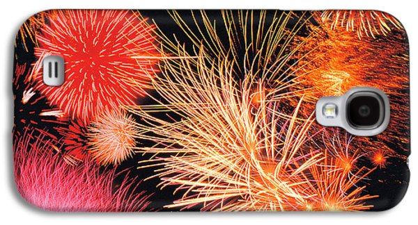 Fireworks Display Galaxy S4 Case by Panoramic Images
