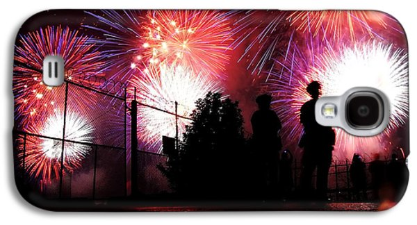 Fireworks Galaxy S4 Case by Nishanth Gopinathan