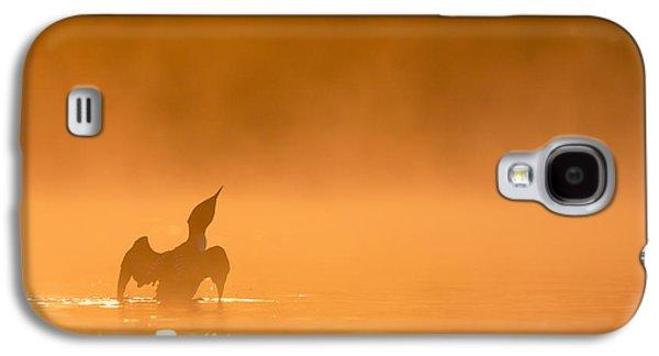 Fiery Wing Flap Galaxy S4 Case by Tim Grams