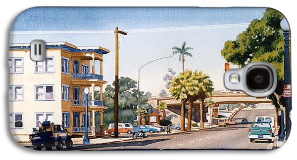 First Avenue In San Diego Galaxy S4 Case by Mary Helmreich