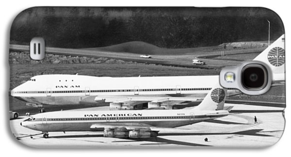 First Boeing 747 Galaxy S4 Case by Underwood Archives