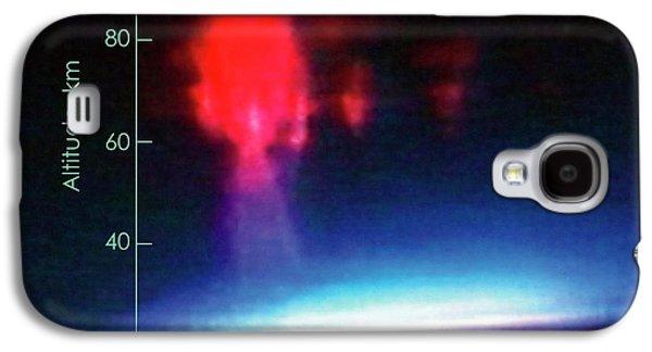 First Colour Image Of Sprite Lightning Galaxy S4 Case by Nasa/university Of Alaska