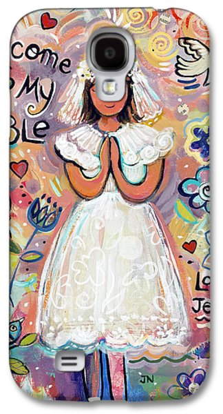 First Communion Girl Galaxy S4 Case