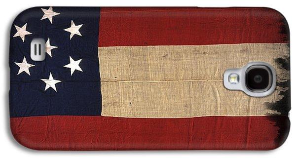 First Confederate Flag Galaxy S4 Case by Daniel Hagerman