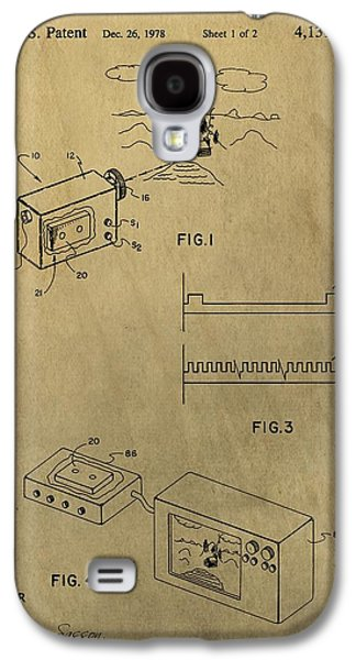 First Digital Camera Patent Galaxy S4 Case by Dan Sproul