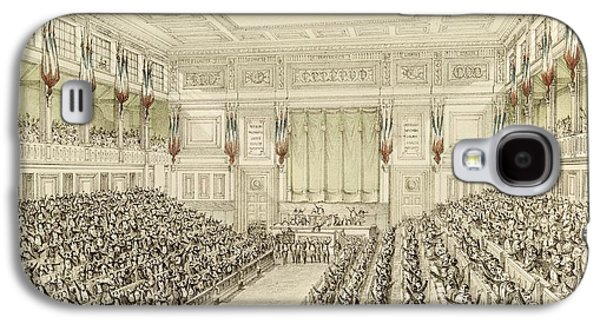 First Meeting Of The National Assembly, 4th May 1848  Galaxy S4 Case by Michel C Fichot