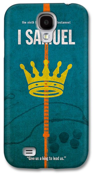 First Samuel Books Of The Bible Series Old Testament Minimal Poster Art Number 9 Galaxy S4 Case