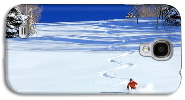Mountain Galaxy S4 Case - First Tracks by Johnny Adolphson