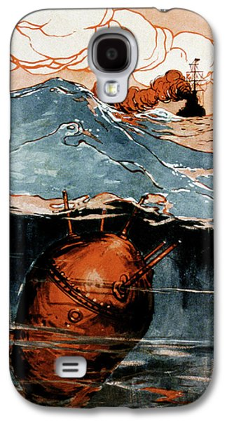 First World War Naval Mine Galaxy S4 Case