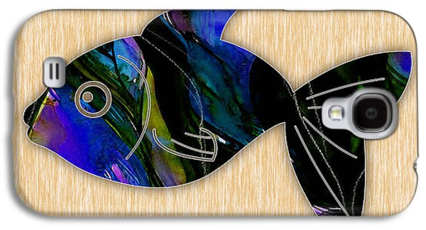 Fish Painting Galaxy S4 Case