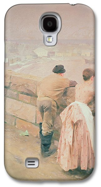 Fisherman St. Ives Galaxy S4 Case by Anders Leonard Zorn