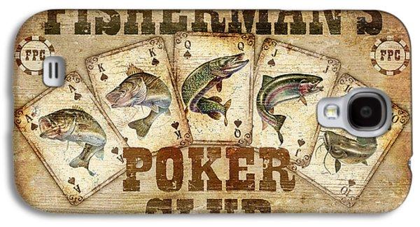 Fishermans Poker Club Galaxy S4 Case by JQ Licensing