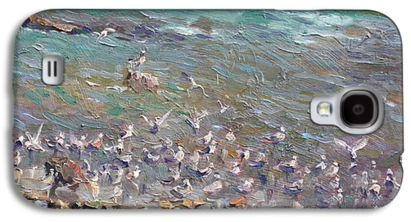 Fishing Time Galaxy S4 Case by Ylli Haruni
