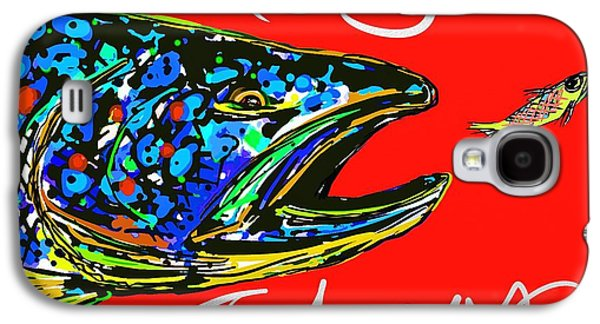 Fishmas Trout Galaxy S4 Case