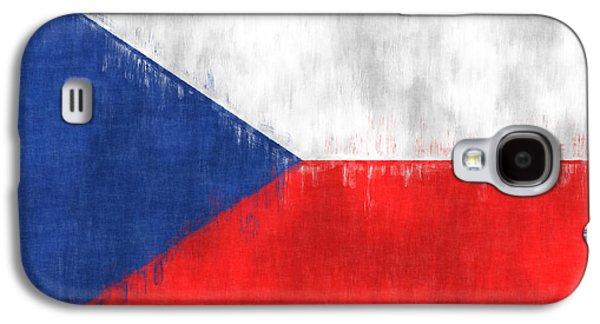 Flag Of Czech Republic Galaxy S4 Case