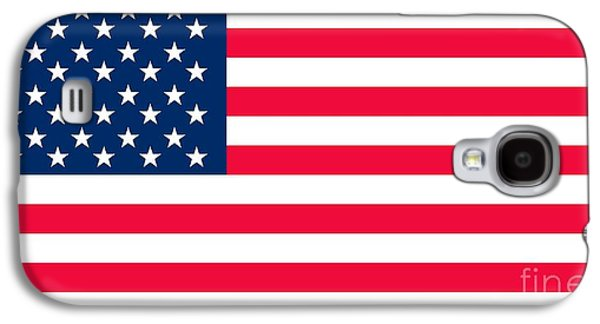 Flag Of The United States Of America Galaxy S4 Case by Anonymous