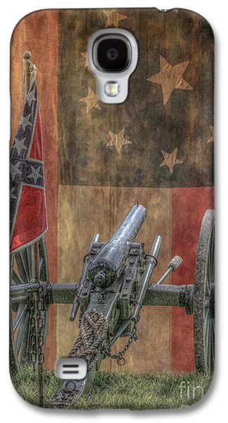 Flags Of The Confederacy Galaxy S4 Case by Randy Steele