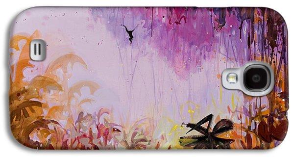 Flamboyant Jungle 2 Galaxy S4 Case by Susie Hamilton