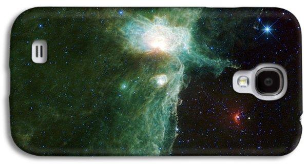 Flame Nebula Galaxy S4 Case by Adam Romanowicz