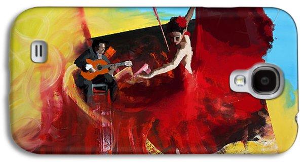 Flamenco Dancer 016 Galaxy S4 Case