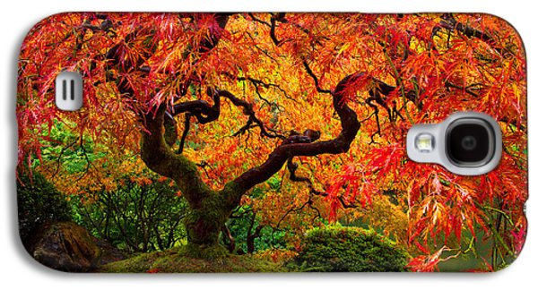Flaming Maple Galaxy S4 Case