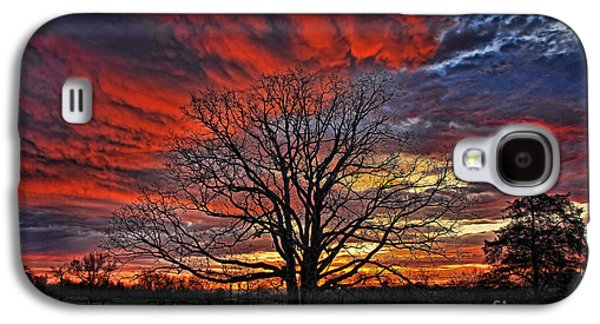 Flaming Oak Sunrise Galaxy S4 Case
