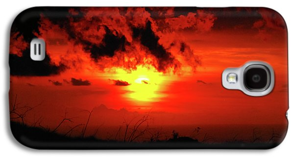 Flaming Sunset Galaxy S4 Case