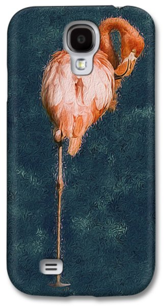 Spoonbill Galaxy S4 Case - Flamingo - Happened At The Zoo by Jack Zulli