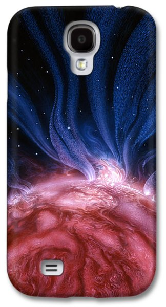Flare Star Galaxy S4 Case by Don Dixon