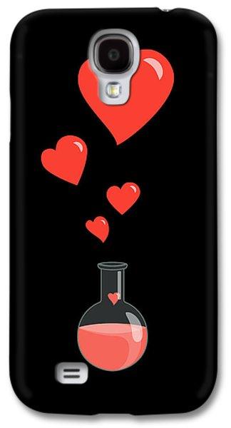 Flask Of Hearts Galaxy S4 Case by Boriana Giormova