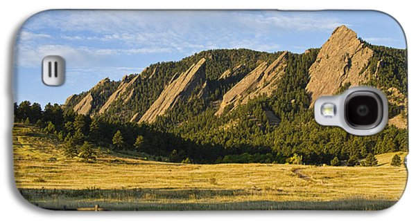 Flatirons From Chautauqua Park Galaxy S4 Case by James BO  Insogna