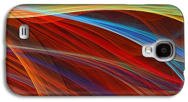Flaunting Colors Galaxy S4 Case by Lourry Legarde