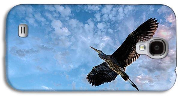 Flight Of The Heron Galaxy S4 Case by Bob Orsillo