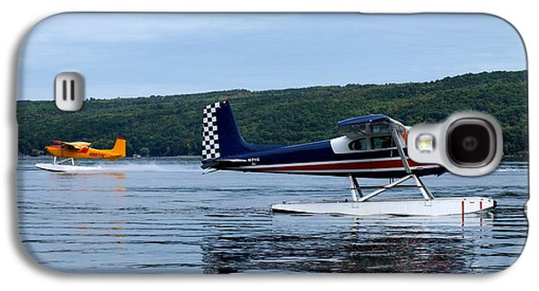 Float Planes On Keuka Galaxy S4 Case by Joshua House