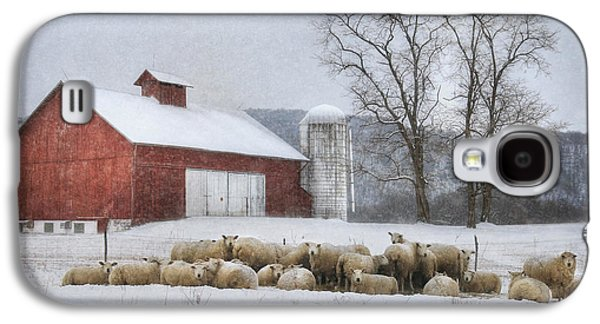 Flock Of Sheep Galaxy S4 Case