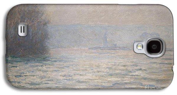 Floods On The Seine Near Bennecourt Galaxy S4 Case by Claude Monet