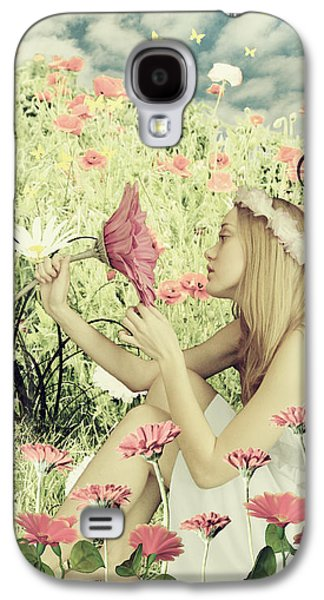 Flora Galaxy S4 Case by Linda Lees