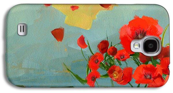 Floral 10 Galaxy S4 Case