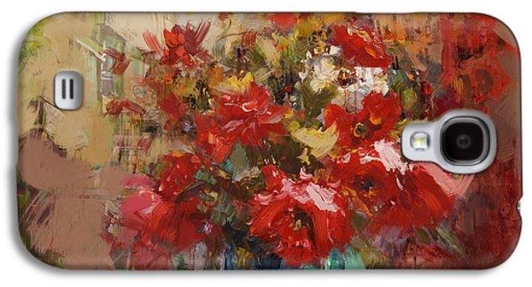 Floral 16b Galaxy S4 Case