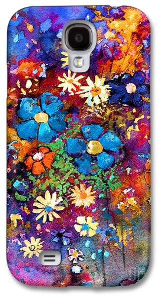 Floral Dance Fantasy Galaxy S4 Case by Svetlana Novikova