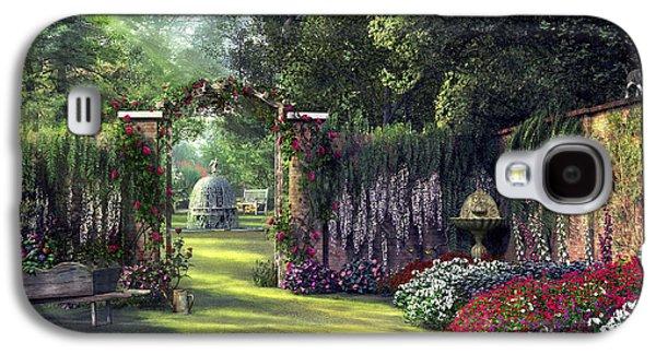 Floral Garden Galaxy S4 Case