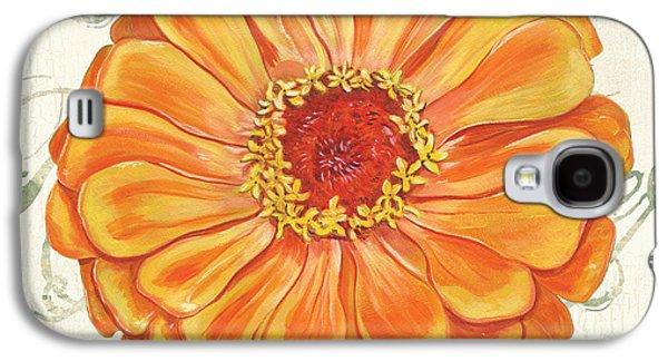 Floral Inspiration 2 Galaxy S4 Case by Debbie DeWitt