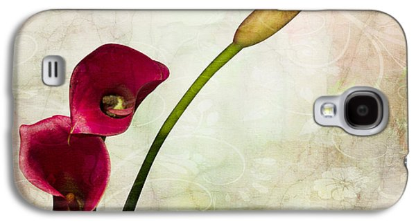 Floral  Galaxy S4 Case by Mark Ashkenazi
