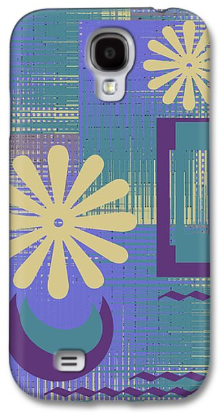Floral Still Life In Purple Galaxy S4 Case by Ben and Raisa Gertsberg