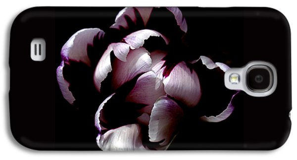 Floral Symmetry Galaxy S4 Case by Rona Black