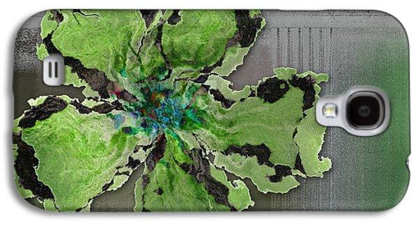 Floralart - 0404 Green Galaxy S4 Case