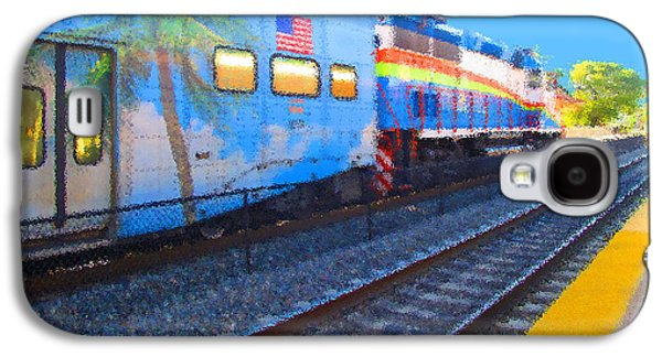 Florida Train Galaxy S4 Case