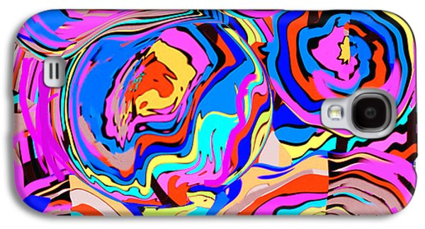 Abstract Art Painting #2 Galaxy S4 Case by RjFxx at beautifullart com