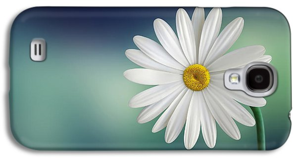Flower Galaxy S4 Case by Bess Hamiti